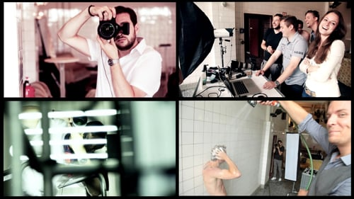 Teaser Photoshooting Evonik Personal Care